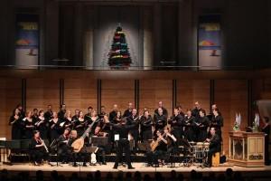 The Australian Brandenburg Orchestra and Choir. Photo by Steven Godbee.