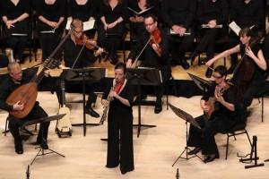 The Australian Brandenburg Orchestra with Christina Leonard. Photo by Steven Godbee.