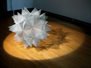 Dodecahedron. Sculpture and Photo by Richard Harrington 2011.
