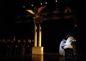 A Scene from Shostakovich's The Nose at Opera Boston