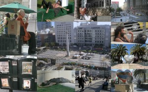 A Union Square Collage by Steven Kruger