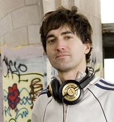 DJ / Composer Mason Bates. Photo Lydia Danmiller.