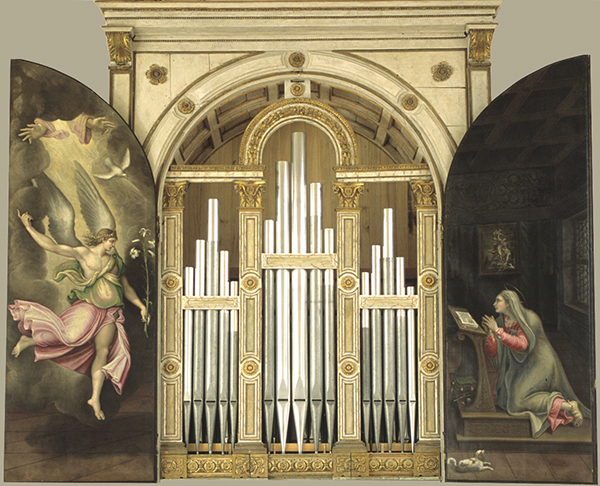 The Antegnati Organ in the Basilica of Saint Barbara, Mantua