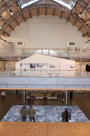 Le Pavillon de l'Arsenal, Paris. Photo © 2012 Alan Miller.