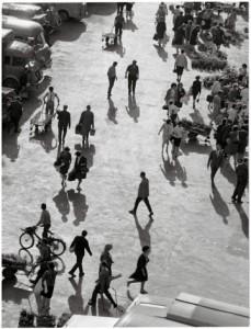 Les Halles, printemps 1964. © Atelier Robert Doisneau.
