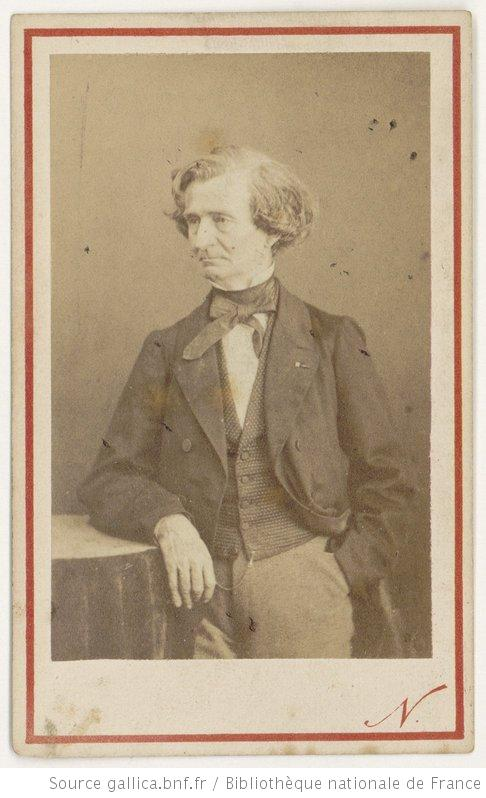 Hector Berlioz. Photo by Nadar. From gallica.bnf.fr