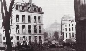 Percement de l'Avenue de l'Opera, 1870. Photo by Charles Marville.