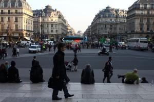 La place de l'Opéra. Photo © Alan Miller 2012.