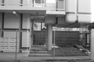 Logements (Avignon-Clouet Architectes), rue Rebière, Paris. Photo © 2012 Alan Miller.