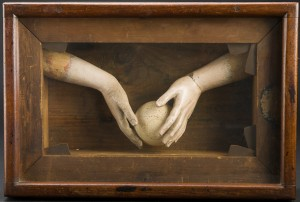 """The Offering"" 1974 Vanujan Boghosian, Chazen Museum of Art"