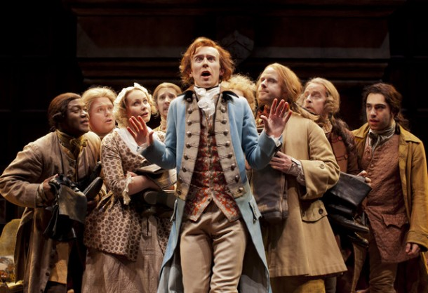 A Singer's Notes 48: Simple Gifts – The Knights play Copland, Goldsmith's She Stoops to Conquer at the National Theatre, London, Live in HD