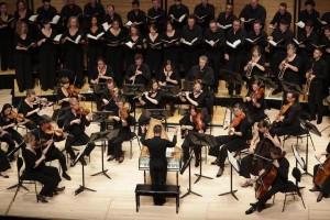 The Australian Brandenburg Orchestra with Choir. Photo by Steven Godbee.
