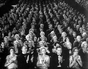 An audience many years ago