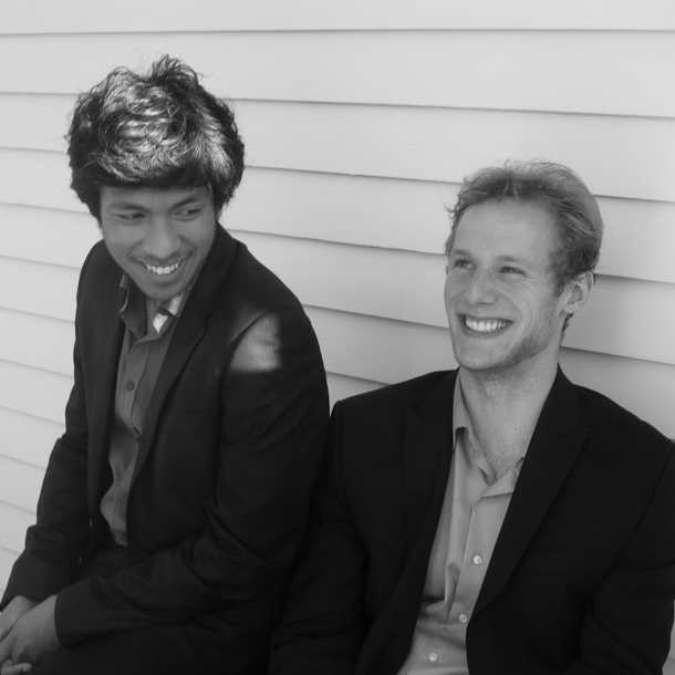 Yannick Rafalimanana, pianist, and Sebastian Bäverstam, cellist