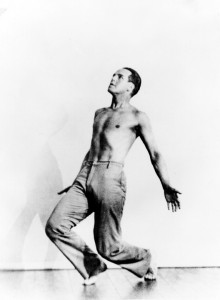 Ted Shawn. From the archives of Jacob's Pillow.