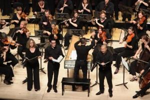 Soloists from the Brandenburg Choir. Photo by Steven Godbee.