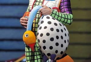 The Magic Flute: Nathan Gunn (Papageno). Photo by Cory Weaver.