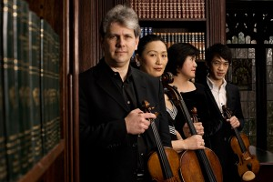 The Borromeo String Quartet. Photo Eli Akerstein.