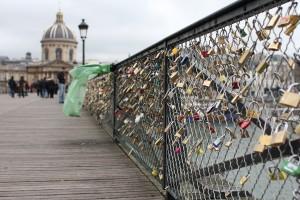 Les cadenas d'amour. Photo © 2012 Alan Miller.