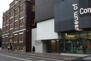 The George Street entrance of the MCA. Photo © 2012 Alan Miller.
