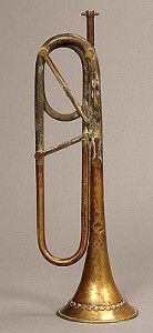 Keyed Trumpet in G by Gebrüder Hoyer, Vienna, ca. 1835, in the National Music Museum of the University of South Dakota. NB quite different from Gabriele Cassone's in this concert.