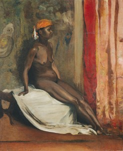 Henri Regnault (1843 – 1871), African Woman, oil on canvas. Cleveland Museum of Art.