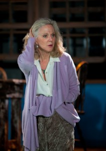 Blythe Danner in The Blue Deep. Photo T Charles Erickson.