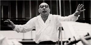 Stravinsky conducting.