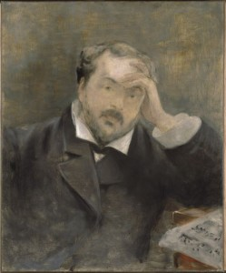 Portrait of Emmanuel Chabrier. Attributed to Edouard Manet. Harvard University Art Museums.