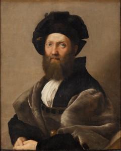 Fig. 10. Raphael. Baldassare Castiglione. Oil on canvas, 82 x 67 cm (1519). Photo © 2007 Musée du Louvre / Angèle Dequier.