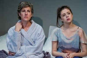 Tamsin Greig and Bel Powley in the original Royal Court production (2011). Photo by Robert Workman.