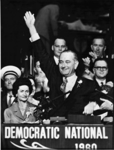 The Democratic National Convention in Los Angeles, 15 July 1960.
