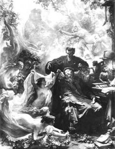Faust's Dream by August von Kreling.