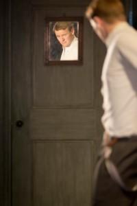 Paul Reid as Gar in Public. Photo by Johan Persson.