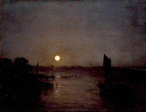 Turner, Moonlight, a Study at Millbank, exhibited 1797.