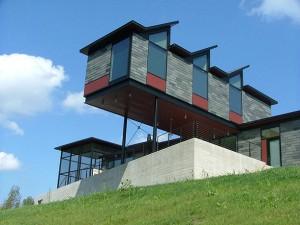 Berkshires XIII House / Burr & McCallum Architects. Photo Michael Lavin Flower.