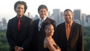 Harlem String Quartet: Ilmar Gavilan, Melissa White, Juan Miguel Hernandez, Paul Wiancko