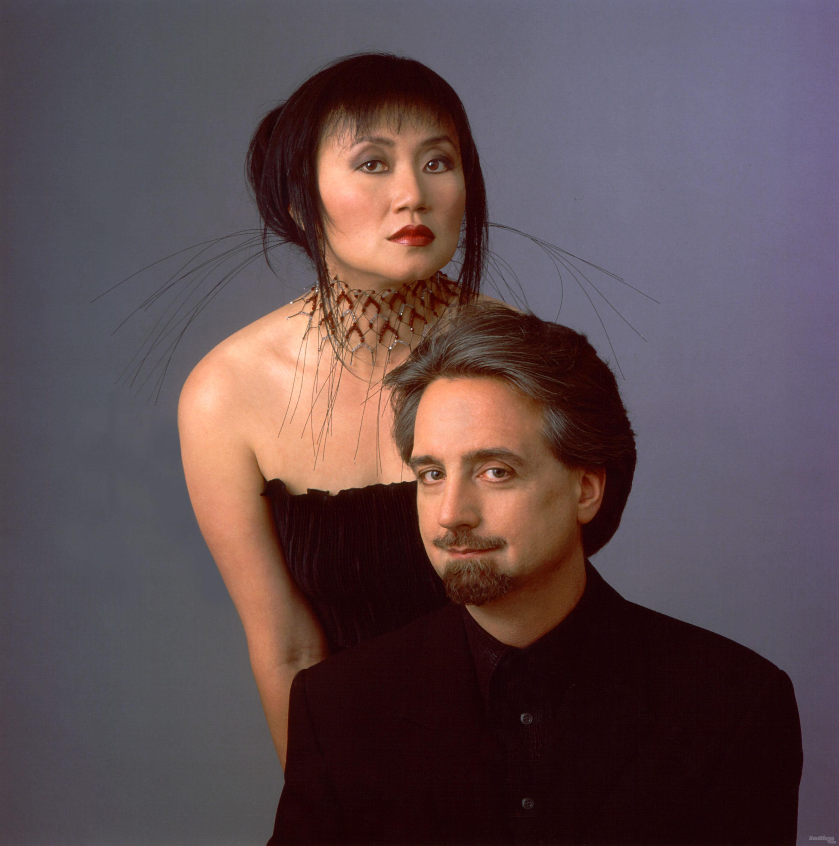 Wu Han and David Finckel. Photo Christian Steiner.