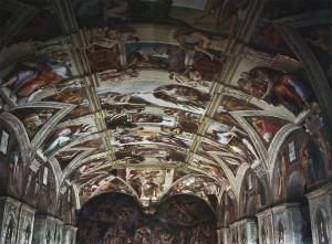 Michelangelo Buonarroti, Sistine Chapel ceiling, 1508-12.