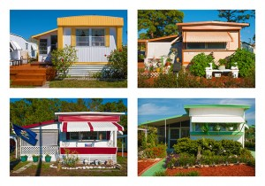 Maxwell MacKenzie, Four Trailers from a Florida Trailer Park.