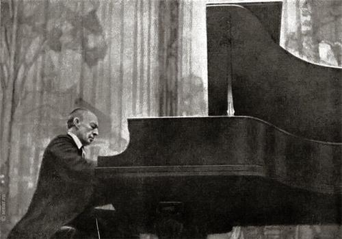 Sergei Rachmaninoff.