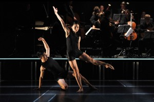 Jessica Thompson and Chen Wen in Project Rameau. Photo by Wendell Teodoro.