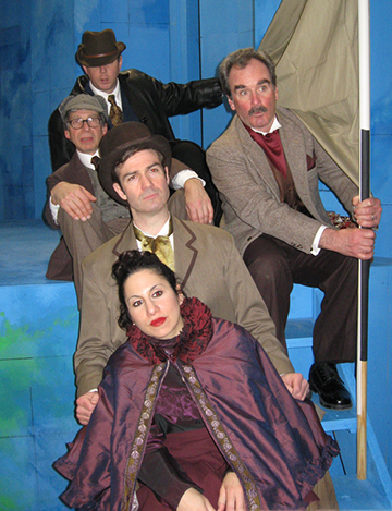 Around the World in Eighty Days at the Oldcastle