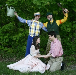 The Cast of The Fantasticks at the Mac-Haydn Theatre