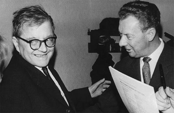 Shostakovich and Britten.
