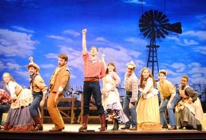 Oklahoma, Cast. Photo Abby LePage.