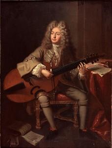 André Bouys, Portrait of Marin Marais, Bibliothèque-Musée de l'Opéra National de Paris