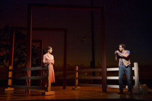 Elena Shaddow (Francesca) in The Bridges of Madison County at the Williamstown Theatre Festival. Photo by T Charles Erickson