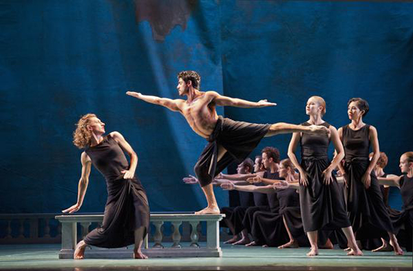 The Mark Morris Dance Group perform Purcell's Dido and Aeneas at Tanglewood