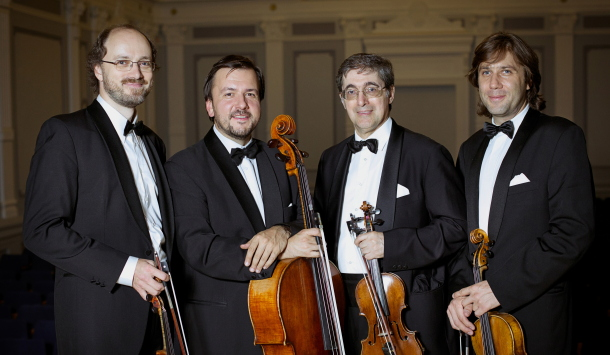 The Column and the Pedestal: Quartets by Brahms and Tchaikovsky, performed by the Borodin Quartet